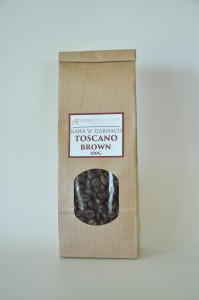 Kawa włoska ziarnista Toscano BROWN 100g
